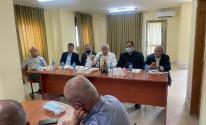 تفاصيل اجتماع العالول مع أمناء سر أقاليم حركة