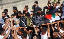 تشييع جثمان الشهيد علاء زيود في جنين