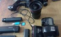 معدات صحفية مفقودة