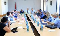 اجتماع اللجنة العليا لتطوير التعليم الطبي في فلسطين