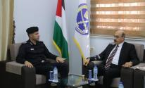 تفاصيل لقاء مدير عام الشرطة بغزة مع وفد من رئاسة جامعة الأزهر