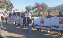 استمرار المظاهرات دعمًا للأسرى في الداخل المحتل