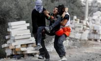 شاهد.. الهلال الأحمر يتعامل مع 40 إصابة في نابلس