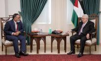 الرئيس عباس يستقبل رئيس هيئة التقاعد برام الله