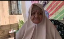 والدة الاسير محمد عارضة