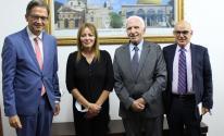 تفاصيل لقاء الأحمد مع ممثل ألمانيا في رام الله