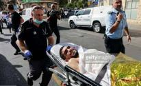 شاهد.. منفذ عملية القدس البطولية يبتسم رغم إصابته واعتقاله