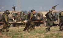 إصابة جندي على حدود غزة