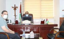 الوزير زيارة يلتقي مع المجلس الفلسطيني للإسكان