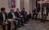 وزير الثقافة يبحث مع نظيره العراقي التعاون المشترك.jpeg