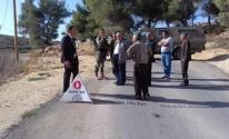 جنين: بلدية يعبد تُنظم اعتصامًا تنديدًا بتدمير شارع الضاحية امريحة