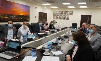 اجتماع اللجنة الوطنية لأمراض الأورام