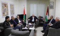 اجتماع حركة فتح والجبهة الديمقراطية
