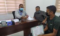 تشغيل 108 خريج من أوائل الطلبة بمراكز التدريب المهني في غزة