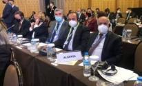 شاهد.. وفد برلماني جزائري يحرج وفدا إسرائيليًا في مؤتمر دولي