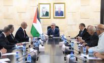 اشتية يستقبل رئيس وأعضاء الغرفة التجارية الصناعية في القدس