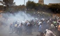 القدس: الاحتلال يقمع مسيرة مطالبة باسترداد جثامين شهداء