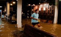 بالفيديو: فيضان يحول مطعما إلى مقصد سياحي في تايلاند
