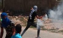 إصابة العشرات جراء قمع الاحتلال لمسيرة كفر قدوم الأسبوعية