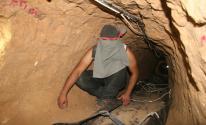العثور على عمال فُقدت آثارهم داخل نفق تجاري  في نفق تجاري برفح