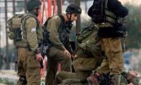 اصابة جندي