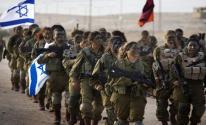 مجندات لدى الاحتلال