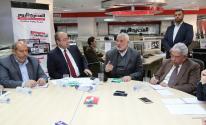 بالصور: تفاصيل لقاء هنية مع عدد من الصحفيين والإعلاميين في القاهرة