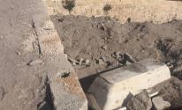 الاحتلال ينبش أحد القبور شمال الخليل