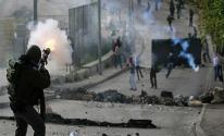 إصابات بالاختناق خلال مواجهات مع الاحتلال بالقدس
