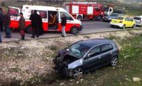شرطة المرور تُسجل حالة وفاة وإصابة آخر في حادثي سير بقطاع غزّة