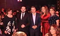 بالصور: ناصيف زيتون وآدم ويارا نجوم حفل عيد الحب في دبي