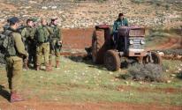 استيلاء على معدات زراعية