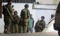 حملة مداهمات واعتقالات تطال 6 مواطنين بالخليل