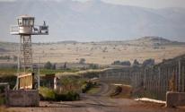 معبر القنيطرة الحدودي مع سوريا