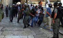 اعتقال طالب من داخل الأقصى