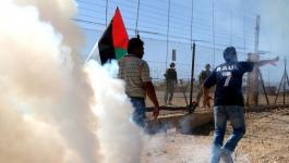الاحتلال يعتقل ناشط سلام خلال قمعه لمسيرة نعلين الأسبوعية