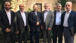 مصادر تكشف: قياديان من حماس ينظمان لوفد الحركة المتواجد في القاهرة