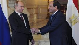 بوتن يؤكد استعداد بلاده استئناف الرحلات الجوية مع مصر