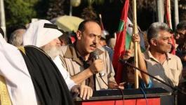 المصري يدعو لاستمرار الحراك المطالب بوقف العقوبات عن غزة