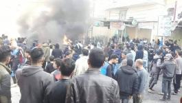 بالصور: تظاهرات في مخيمات ومدن قطاع غزّة رفضاً لغلاء الأسعار وانعدام فرص العمل