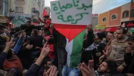 الديمقراطية تُجّدد دعمها لمطالب المتظاهرين وتُطالب حماس بحماية الحراك