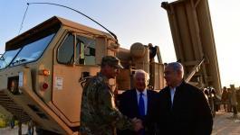 نتنياهو يتفقد منظومة الدفاع الصاروخي ويُشيد بدعم أمريكا لإسرائيل