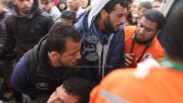 محدث بالصور: شهيدان وعشرات الإصابات بقمع الاحتلال مليونية الأرض والعودة شرق غزّة