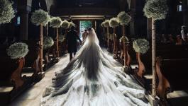 شاهد: قصة زفاف تفطر