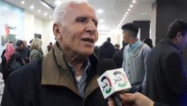 الأحمد يكشف عن موقف القيادة من اتفاق التهدئة في غزّة