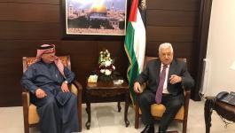 العمادي يشكر الرئيس عباس لتخصيصه قطعة أرض لإقامة مقر اللجنة القطرية في غزّة