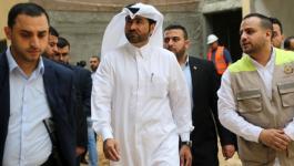 وفد قطري برئاسة الحردان يصل غزّة لمتابعة مشاريع لجنة إعمار القطاع