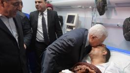 بالفيديو والصور: هذا ما قاله الرئيس خلال زيارته أبو سيف في مجمع فلسطين الطبي!