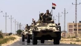 عملية عسكرية في سيناء.