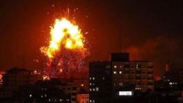 طائرات الاحتلال تشنّ سلسلة غارات على مخيم العودة شرق رفح